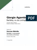 AGAMBEN, Giorgio - Bartleby ou da contingência.pdf