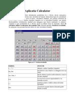 Aplicatia Calculator