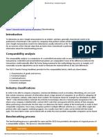 Benchmarking - transferpricing