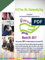 You, Me, Community Day Invite