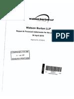 Watson Burton Accounts 2016