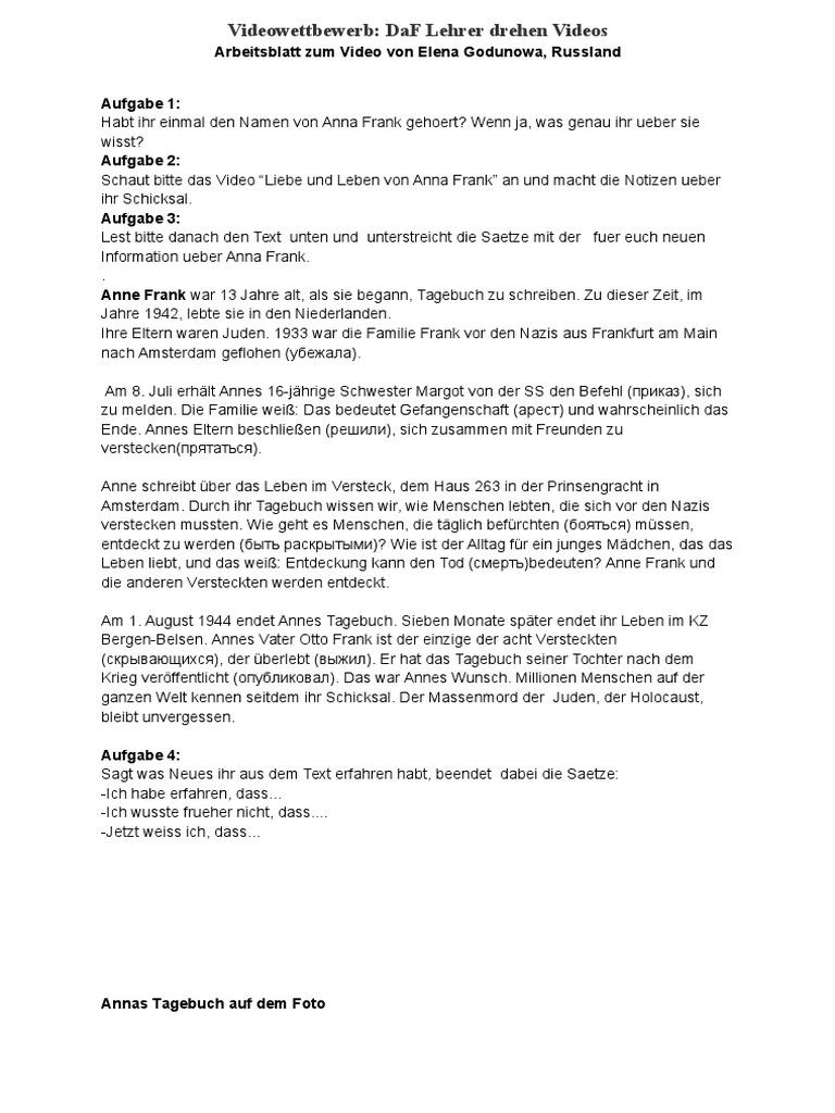 Arbeitsblatt_AnnaFrank