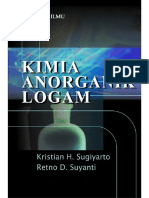 eBook Kimia Anorganik Logam, Sugiyarto