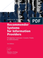 Recommendation System for Information Provider