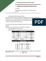 Informe Del Diseño de Acero en Los Muros 18-08-16
