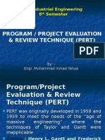 Management of Engineering Projects-PERT