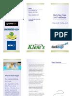 dock dogs brochure