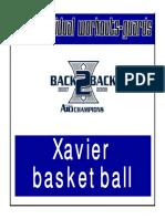 Xavier Guard Workouts