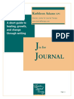 J is for Journal