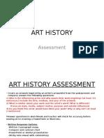 art history assessment  ppt 2017
