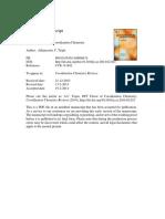 DFT Flavor of Coordination Chemistry