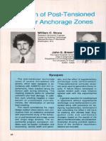 12. Design of Anchorage Zones