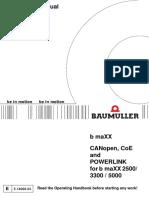 Baumuller Canopen Manual