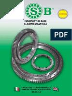 Isb Cuscinetti Di Base Slewing Bearings 1.03.12 (1)