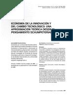 ECONOMÍA DE LA INNOVACIÓN Y DEL CAMBIO TECNOLÓGICO UNA APROXIMACIÓN TEÓRICA DESDE EL PENSAMIENTO SCHUMPETERIANO.pdf