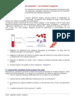 SDM03 Activite Analyse Sanguine