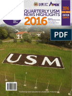 Quarterly Usm News Highlights 2016