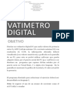 Watimetro Digital