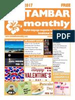 Costambar Monthly February 2017