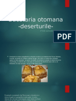Bucataria otomana-Deserturile