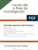 11-Elaboracion Del Trabajo Final de Investigacion