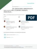Principios de psiconeuroendocrinoinmunología (PNEI) y terapia con citokinas a bajas dosis