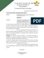 Oficio de Invitacion de Cargos