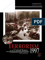 XFBI1997 - Terrorism in the United States