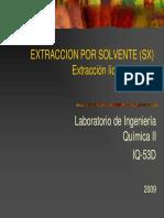 Extraccion Por Solvente Sx