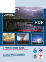 Thunderstorms Preparedness Guide