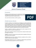 Sintesis Examen Final Fisica Primero Medio