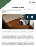 Una Grabación Para Escapar de Los Abusos _ España _ EL PAÍS