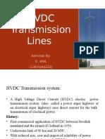 Hvdc Transmission Lines