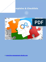 Top 10 Templates and Checklists