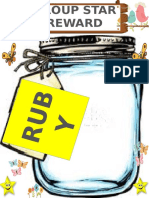 Group Star Reward 1 Page