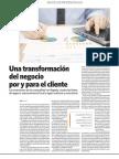 Una transformación del negocio por y para el cliente
