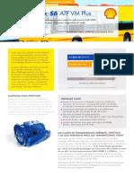 Folleto Shell SpiraxS6 ATF VM Plus