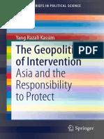 Asia y La Responsabilidad de Proteger