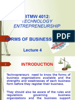 L4 - Forms of Business Entities New