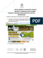Manual de Registro y Actualizacion Aplicativo RCD SDA