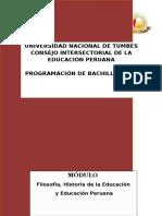 5__ Filosofia E HISTORIA de La Educacion