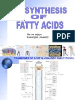 Lipid Biosynthesis