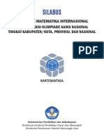Silabus OSN 2017 Bidang Matematika
