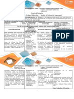 Guía de Actividades y Rubrica de Evaluación Actividad 2. Trabajo Colaborativo 1 - Análisis de La Situación Empresarial