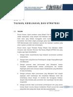 Bab II Tujuan Kebijakan Dan Strategi