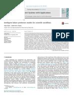 Intelligent Failure Prediction Models for Scientific Workflows