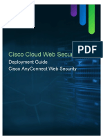 CWS Deployment Guide - Cisco AnyConnect Web Security