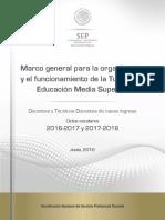 Marco Tutoría Educación Media Superior 17-18 170616