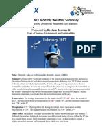 Project WX Summary February 2017