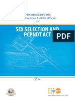 sex selection and pcpndt